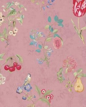 Eijffinger PIP Studio 55-375023, Vliestapete rose Blumen