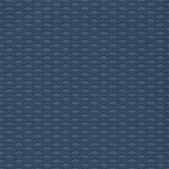 Vliestapete Muster Blau