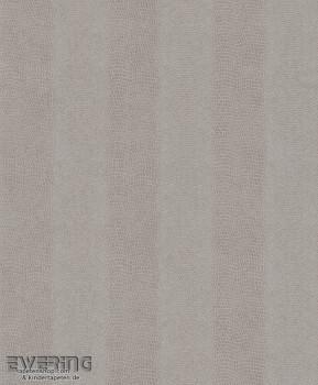 7-482836 Pop Skin Rasch taupe Uni Schlangenhaut Wohnzimmer
