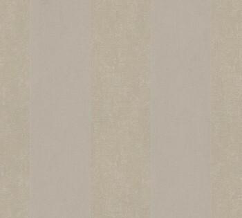 33581-3, 335813 Velourtapete Castello AS Creation warm-grau Streifen