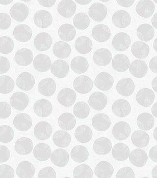 Grau Silber Punkte Tapete Vlies Tenue de Ville BALSAM 62-BLS200105