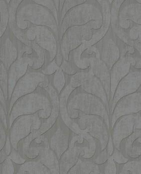 Siroc Eijffinger 55-376001 Ornamente Wohnzimmer Tapete Vlies grau
