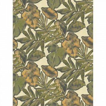 Casadeco - Natura Wandbild ecodeco 36-NTRA83927363 grün gelb Blätter