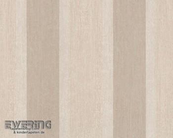 8-9462-18 Bohemian 946218 sand-grau Vlies-Tapete Streifen