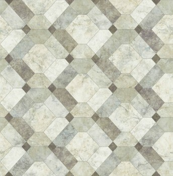 Restored 23-024058 Rasch Textil Tapete Marmor Muster Stein grün