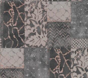 Vlies-Tapete dunkelbraunes Muster 29-88508_L Limonta Luna Smita