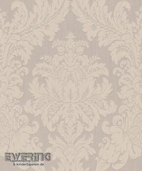 23-077345 Cassata Rasch Textil Textiltapete Ornament hell-grau