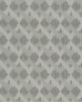 Siroc Eijffinger 55-376033 hell-grau Rauten glänzend Vliestapete