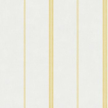 Vliestapete Caselio - Bon Appetit 36-BAP68392005 hell-gelb Streifen
