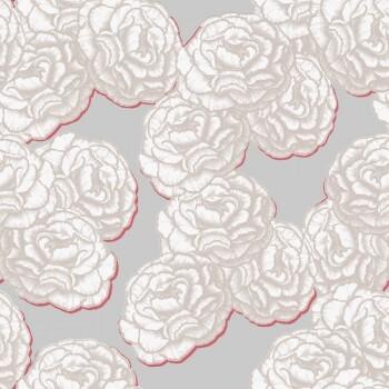 Rosa Blumen Tapete Muster Tenue de Ville BALSAM 62-BLS200501