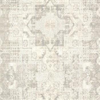 Boho Chic Rasch Textil 23-148654 Tapete Grafikmuster cremefarben