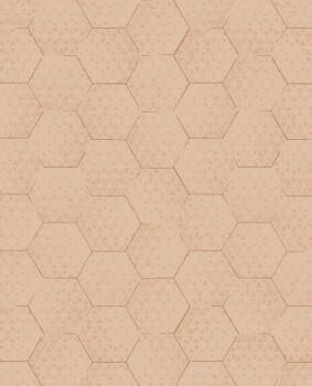 Eijffinger Enso 55-386583 grafisches Muster Vliestapete aprikot