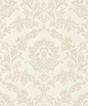 Rasch Textil Velluto 23-074924 Textiltapete beige Schlafzimmer Barock