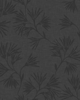 Eijffinger Enso 55-386551 schwarz Blumen Vliestapete