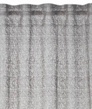 Rasch home Fertigdeko Schlaufenband 45-198985 grau glänzend