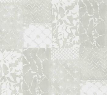 Tapete hellbeiges Patchwork-Muster Vlies 29-88506_L Limonta Luna