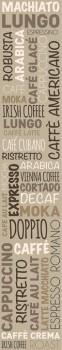 Caselio - Bon Appetit Wandbild 36-BAP68531020 Cappuccino braun