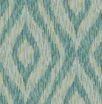 23-024219 Gravity Rasch Textil Tapete grün Retro Vlies Streifen