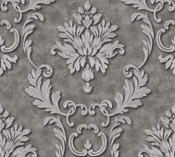 AS Creation Architects Paper Luxury Wallpaper 324225, 8-32422-5 Vliestapete grau silber