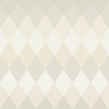 Boho Chic Rasch Textil 23-148678 Karotapete elfenbein kariert
