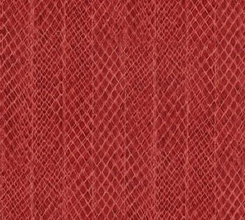 AS Creation Saffiano 33987-3, 339873 Schlangenhaut-Optik rot Vlies Tapete