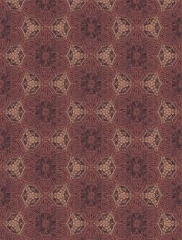 Siroc Eijffinger 55-376094 Blumen Wandbild Vlies Terrakotta
