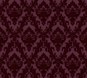 AS Creation Castello 33582-5, 335825 bordeaux-rot Ornamente klein Velourtapete