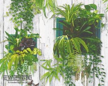 8-30413-1, 304131 Authentic Walls AS Creation Papiertapete grün Pflanzen