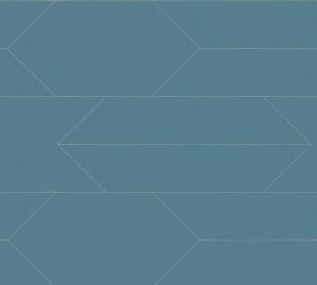 Vlies-Tapete AS Creation Björn 34868-3, 348683 Rauten petrol-blau