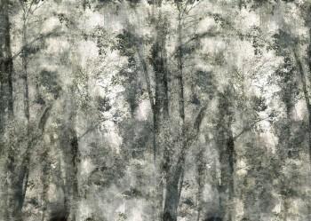 Lind-Grün Wandbild Wald Bäume 62-ODED191802 Tenue de Ville ODE