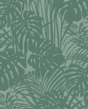 Eijffinger Reflect 55-378013 Vlies-Tapete türkis-grün Blätter