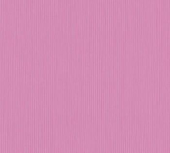 Vlies-Tapete AS Creation Happy Spring 8-34457-9 pink Uni Streifen