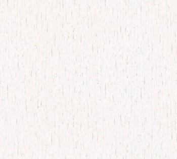AS Happy Spring 8-3478-17 Papiertapete feine Flechtoptik creme blau
