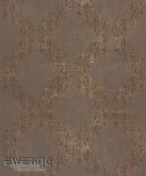 Texdecor Casadeco - Majestic 36-MAJ26421421 Ornament dunkel-braun