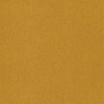 Tapete Wellen Senf-Gelb Uni