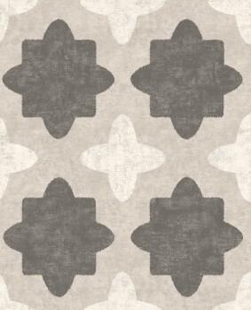 Eijffinger Lounge 55-388742 Vliestapete beige grafisches Muster