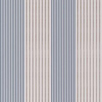 Tapete gestreift blau beige 48-74010472 Casamance - Portfolio