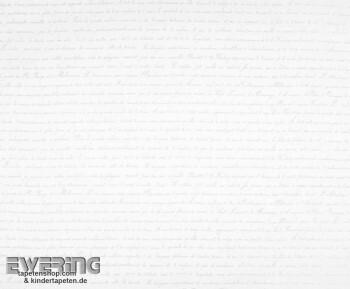 36-MRN25196102 Casadeco - Marina Texdecor Schrift weiß Dekostoff