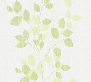 Vliestapete AS Creation Happy Spring 8-34761-3, 347613 Blätter hell-grün