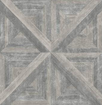 23-024018 Rasch Textil Restored Vlies-Tapete Holz grau-braun Muster