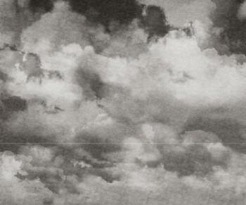 Wandbild Wolken Grau Strich Tenue de Ville BALSAM 62-BLD201314