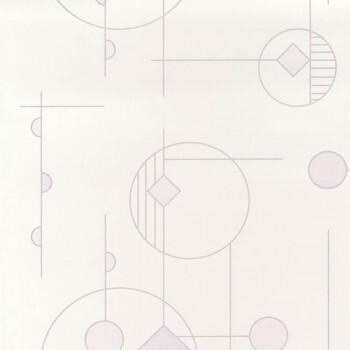 Tapete grafisch beige Casadeco - Vision 36-VISI83660106