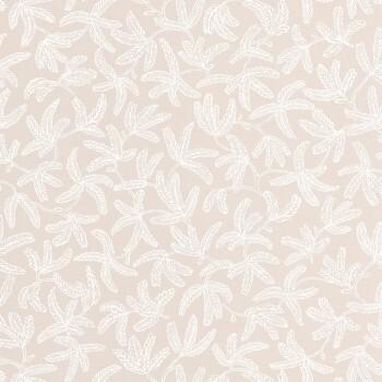 Texdecor Caselio - Hygge 36-HYG100571421 beige Tapete Blätterranken