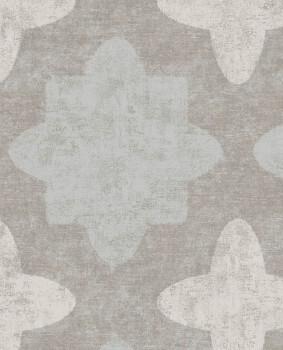 Eijffinger Lounge 55-388744 Vliestapete taupe mint grafisches Muster