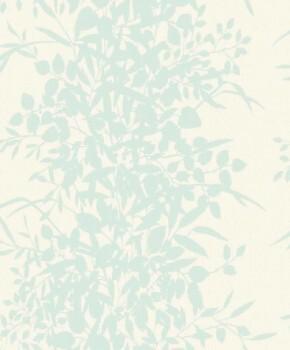 37-NG2092 Grandeco Nordic Elegance Pflanzen mint-blau Vliestapete