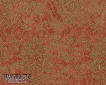 Bohemian 8-9453-34, 945334 kupfer-rot Ornament Vliestapete