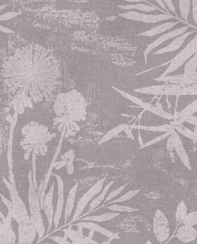 55-379031 Eijffinger Lino Blumenmuster Vliestapete rosa lila
