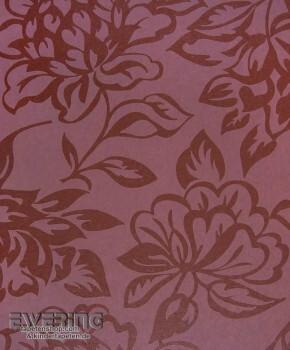 Texdecor Casadeco - Midnight 3 36-MDG17425130 violett Blumen