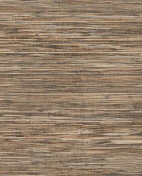 55-389513 Eijffinger Natural Wallcoverings II Bambustapete braun/taupe