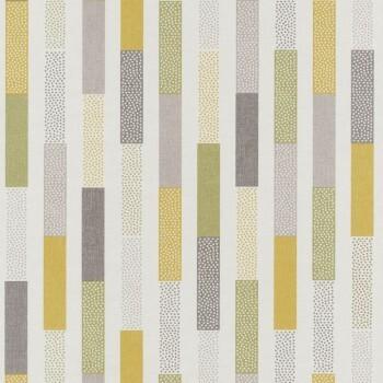 Texdecor Caselio - Swing 36-SNG68897172 Tapete Streifen gelb-grün